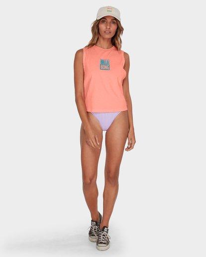 3 SUNSHINE CROP MUSCLE TEE Pink 6582187 Billabong