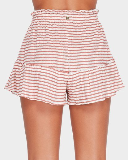 4 KAHLUA STRIPE SHORT Brown 6582293 Billabong