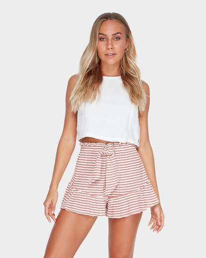 0 KAHLUA STRIPE SHORT Brown 6582293 Billabong