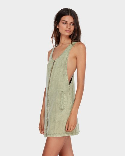 1 MANNIX DRESS Green 6582476 Billabong