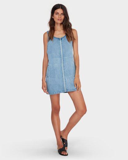 3 MANNIX DRESS Blue 6582477 Billabong