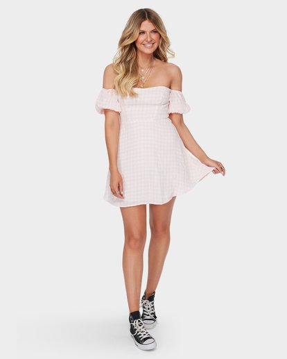 3 I LOVE LUCIE DRESS Pink 6582485 Billabong