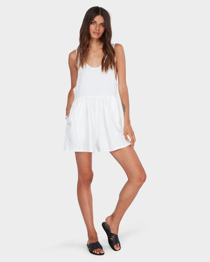 3 CABO LINEN PLAYSUIT White 6582511 Billabong