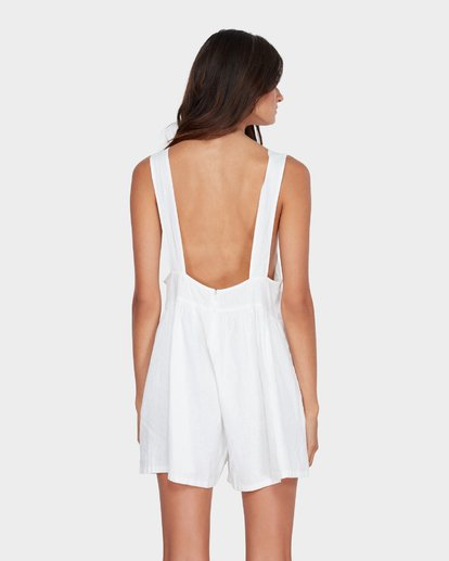 2 CABO LINEN PLAYSUIT White 6582511 Billabong