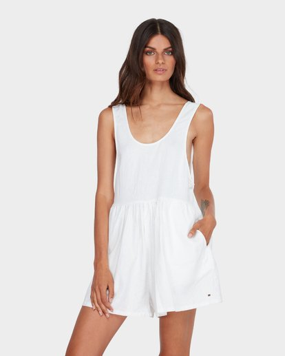 1 CABO LINEN PLAYSUIT White 6582511 Billabong