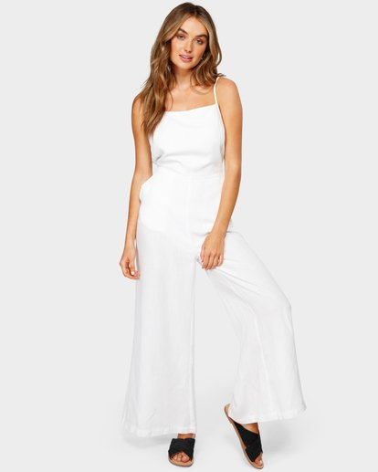 3 JOSIE JUMPSUIT White 6582515 Billabong
