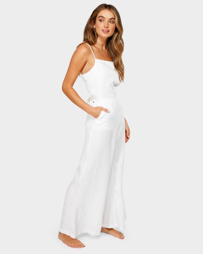 1 JOSIE JUMPSUIT White 6582515 Billabong