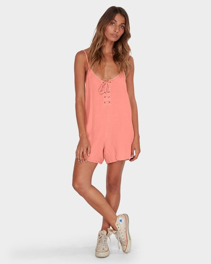 3 VIDA PLAYSUIT Pink 6582517 Billabong