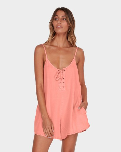 0 VIDA PLAYSUIT Pink 6582517 Billabong