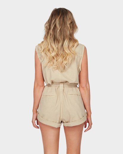 2 THE DESERT ROMPER Beige 6582520 Billabong