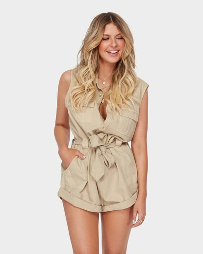 0 THE DESERT ROMPER Beige 6582520 Billabong