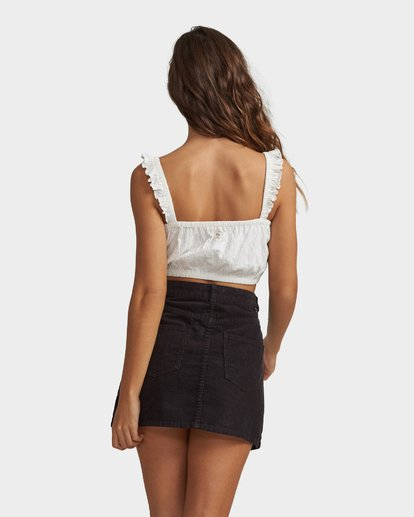 5 DEM BONES CORD SKIRT  6582534M Billabong