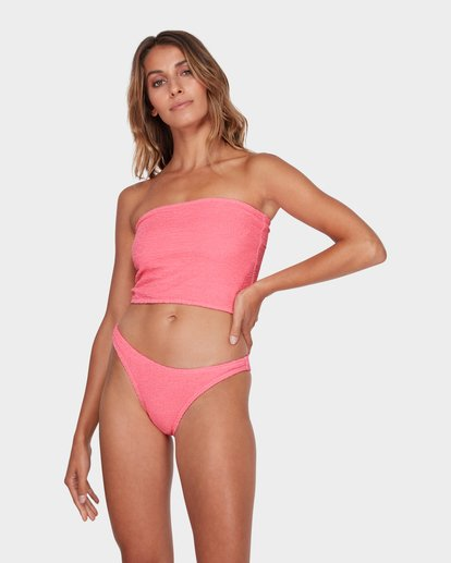 2 SUMMER HIGH TUBE BIKINI TOP Pink 6582581 Billabong