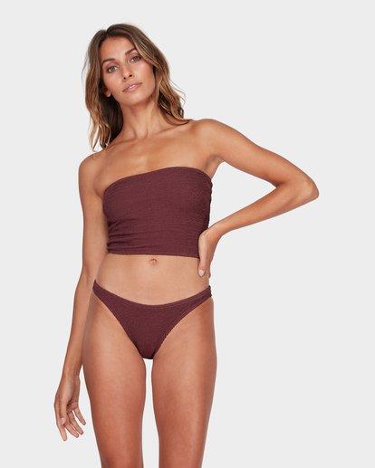 3 Summer High Tube Bikini Top Red 6582581 Billabong