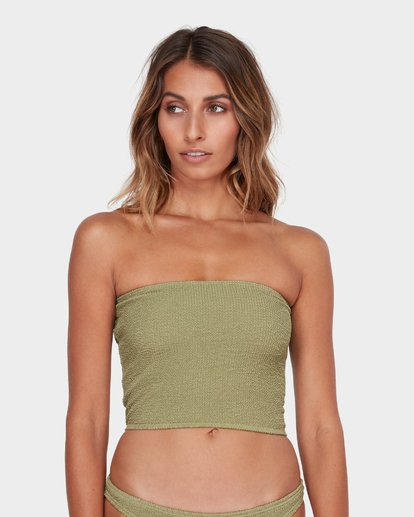 0 Summer High Tube Bikini Top Green 6582581 Billabong