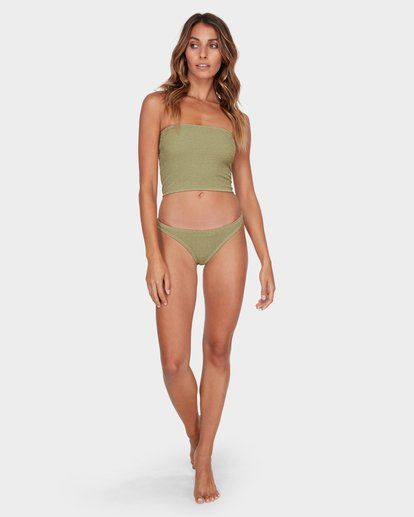 5 Summer High Tropic Bikini Bottom Green 6582582 Billabong