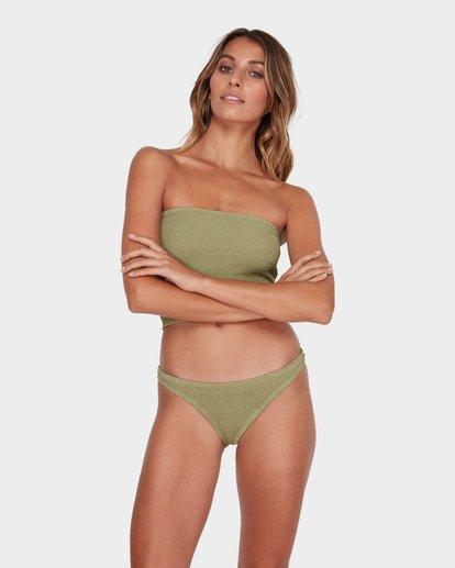 1 Summer High Tropic Bikini Bottom Green 6582582 Billabong