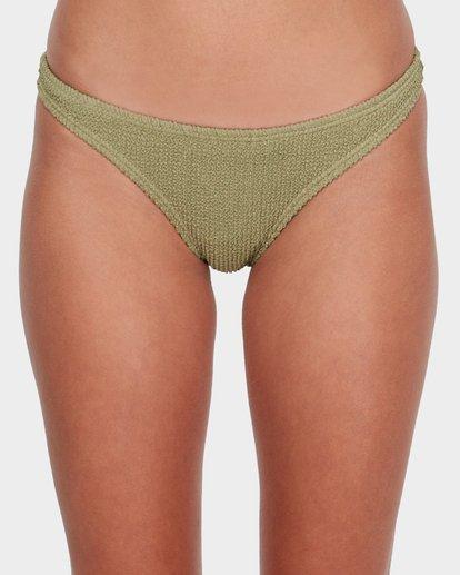 3 Summer High Tropic Bikini Bottom Green 6582582 Billabong