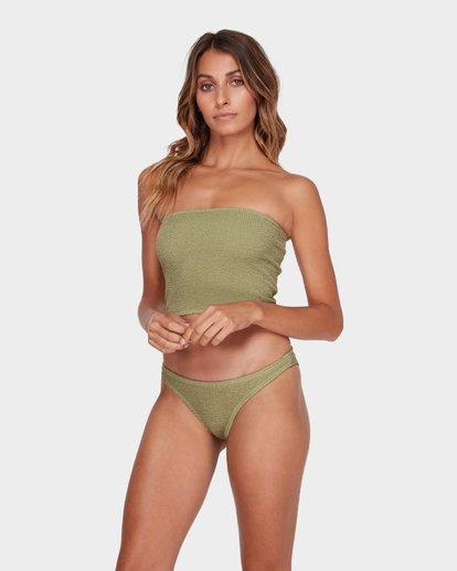 2 Summer High Tropic Bikini Bottom Green 6582582 Billabong