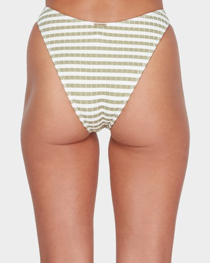 4 SUNS OUT STRIPE HIKE BIKINI BOTTOM Green 6582623 Billabong