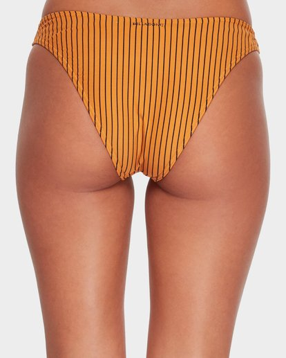 6 DAYLIGHT STRIPE BIKINI BOTTOM Yellow 6582779X Billabong