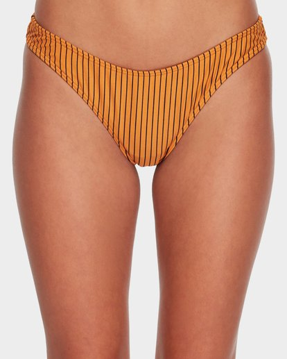 5 DAYLIGHT STRIPE BIKINI BOTTOM Yellow 6582779X Billabong