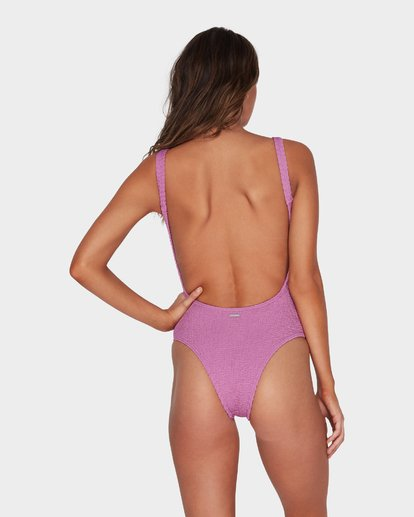 2 SUMMER HIGH ONE PIECE Purple 6582783 Billabong