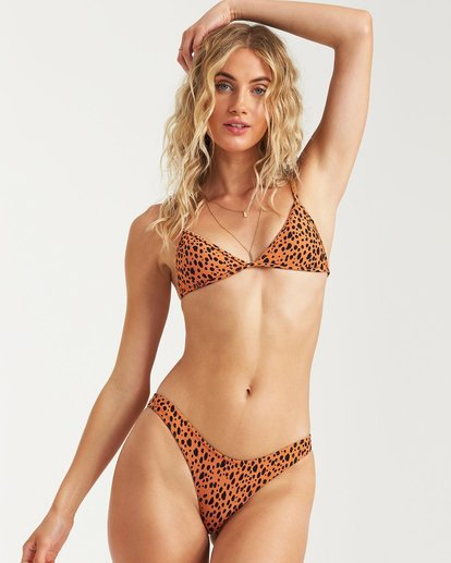 1 Fun Zoo Hike Bikini Bottom Beige 6582807X Billabong
