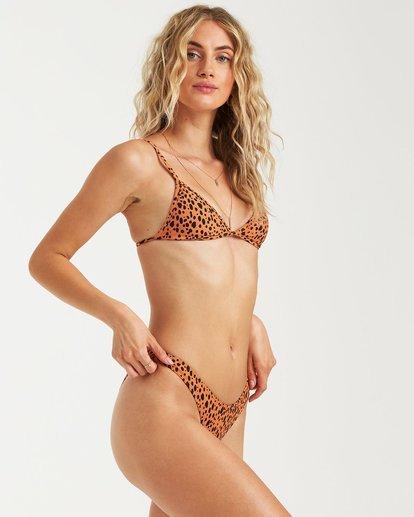 2 Fun Zoo Hike Bikini Bottom Beige 6582807X Billabong