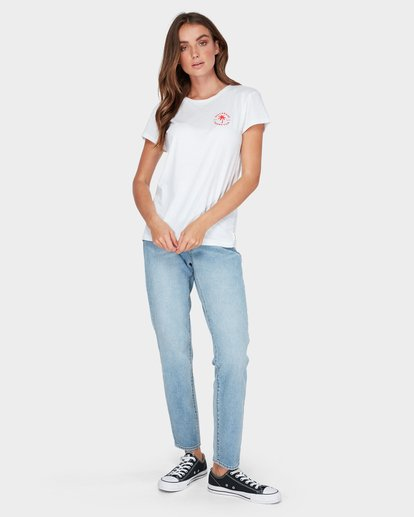3 AUSTRALIA TEE White 6585017M Billabong