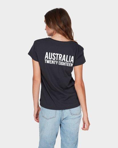 2 AUSTRALIA TEE Black 6585017M Billabong