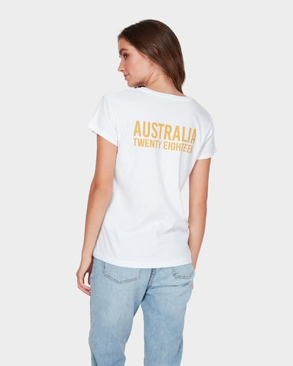 2 AUSTRALIA TEE White 6585017M Billabong