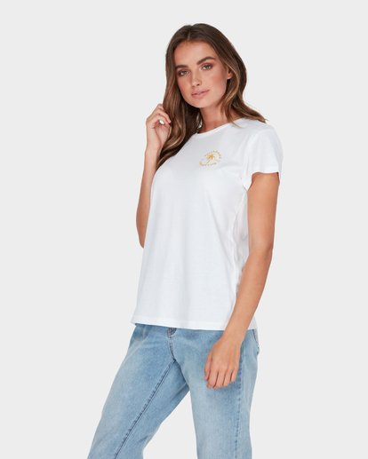 1 AUSTRALIA TEE White 6585017M Billabong