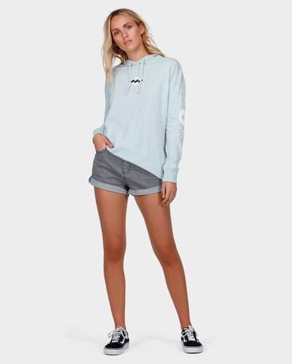 3 COLLIDE LONG SLEEVE TEE Blue 6585076 Billabong