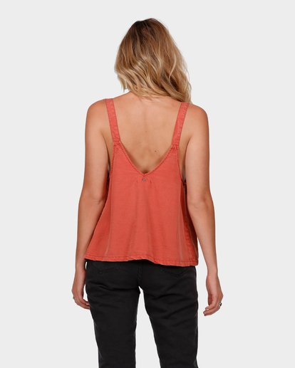 2 SALTY VIBES TOP Red 6585095 Billabong