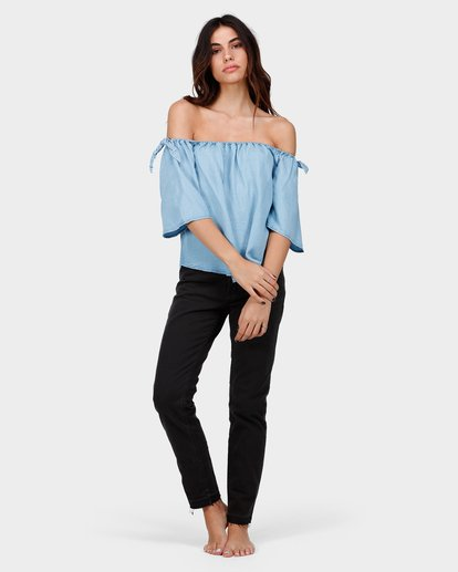 3 BLUES BABY TOP Blue 6585099 Billabong
