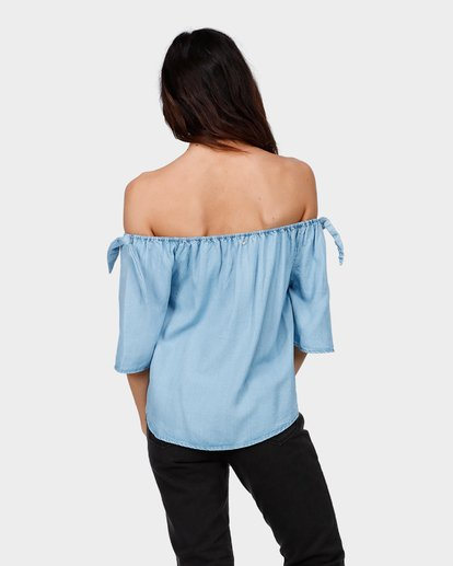 2 BLUES BABY TOP Blue 6585099 Billabong