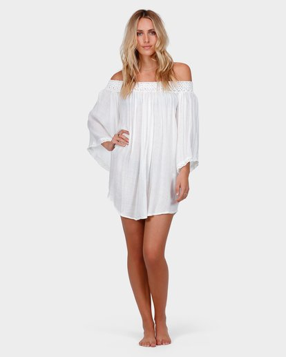 3 EASY BREEZE COVER UP Beige 6585153 Billabong