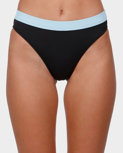 3 THROWBACKS MAUI RIDER BIKINI BOTTOM  6585597 Billabong