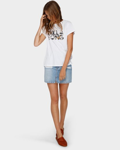 4 Wahi Floral Tee White 6591001 Billabong