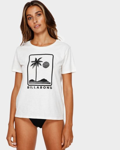 0 HERE TO STAY TEE White 6591008 Billabong