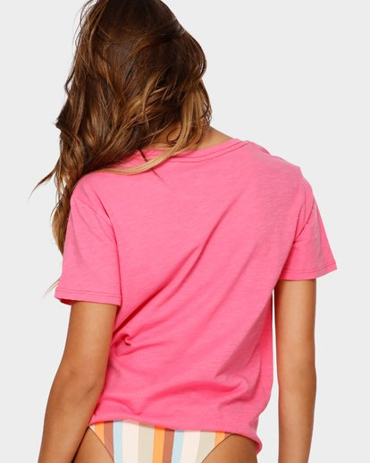 3 Best Of Times Tee Pink 6591009 Billabong
