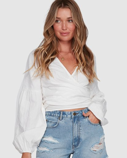 0 WANDERER TOP White 6591092 Billabong