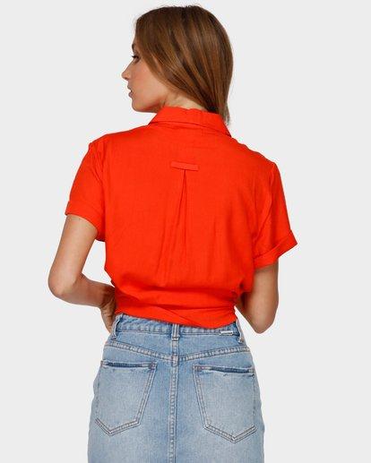 3 SWEET LIFE SHIRT Orange 6591097 Billabong