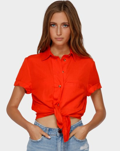 1 SWEET LIFE SHIRT Orange 6591097 Billabong