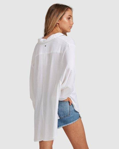 3 Strangers Shirt White 6591105 Billabong