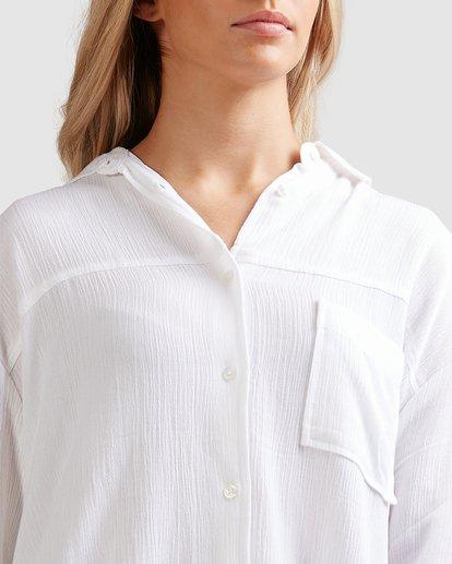 4 Strangers Shirt White 6591105 Billabong