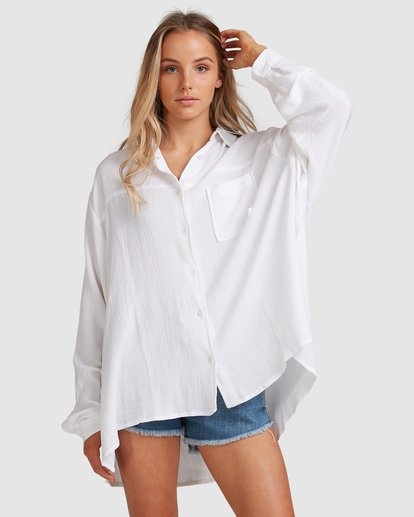 1 Strangers Shirt White 6591105 Billabong