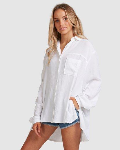 2 Strangers Shirt White 6591105 Billabong