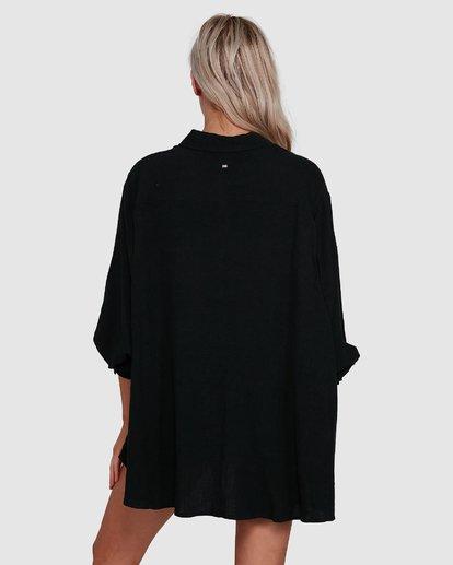 3 Strangers Shirt Black 6591105 Billabong